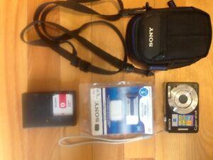 Sony Cyber-shot digital camera - model DSC-W55