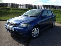 2004 VAUXHALL ASTRA SPORT 1.7CDTI 80PS - 86K MILES - GREAT SPEC - ECONOMICAL - 3 MONTHS WARRANTY
