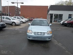 2003 Hyundai Accent GL Sedan 98000 km only safety and E test
