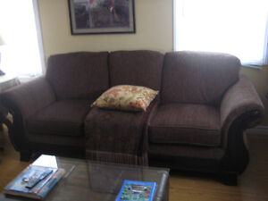 Couch, Chair, Coffee Table, Kitchen set (BORDEN area)