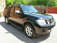 2012 Nissan Navara Double Cab Pick Up Tekna 2.5dCi 190 4WD Immaculate condition!