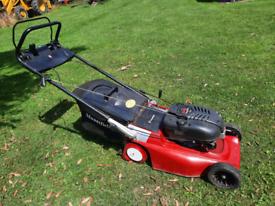 Mountfield self drive petrol roller mower