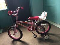 "Girls 18"" Apollo bike"