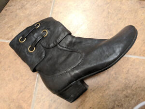 Brand New Black Winter Booties with Fur