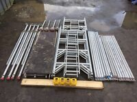6.2m Working Height Eiger 500 Aluminium Scaffold Tower Fully Complete