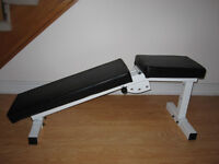 Decline Incline Flat Bench gym weights exetcise