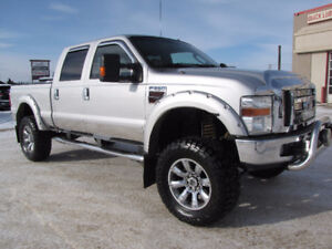 2008 Ford F-350 Lariat - LIFTED/Diesel/Leather/Moonroof- $24,987