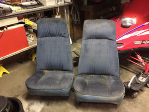 High Back Bucket Seats