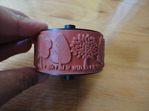 STAMPIN UP WHEEL FUNKY FOREST RUBBER STAMP London Ontario image 2