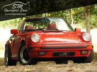 1987 PORSCHE 911 3.2 CARRERA CABRIOLET 2D 231 BHP