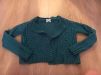 Size 8 knitted cardigan from Newlook