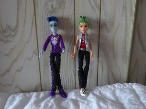 Monster High Garcon Deuce Gorgon Scaris Bionicle Slo Mo