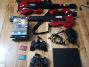 Sony Playstation 2 Slim + 6 Games + Accessories