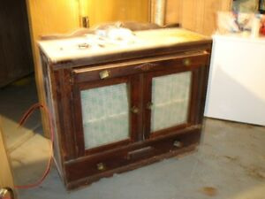ANTIQUE SIDE BOARD     REDUCED       70.00