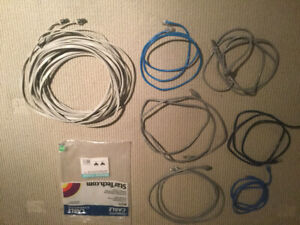 Computer Cable 50ft. Plus 6 x 3ft. Cables