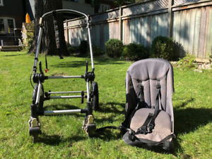 Bugaboo Cameleon stroller -- frame and seat cover (no bucket)