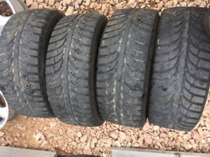 4 215/55/16 winter tires