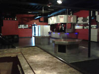 Restaurant / Bar for lease - renovated and clean.