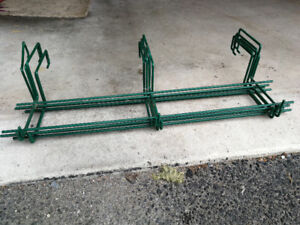 Brackets for deck containers