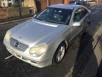 MERCEDES-BENZ C180, 2002, AUTOMATIC, 127k