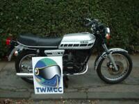 Yamaha RD250 Motorcycle 1976