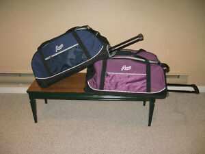 ROOTS WHEELED DUFFLE BAGS