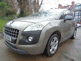 Peugeot 3008 Crossover 1.6HDi ( 112bhp ) FAP Sport FAMILY CAR