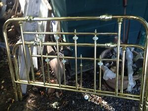 brass bed twin incl frame