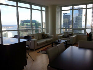 Dec 17: Spacious Furnished Downtown 2 Bedroom next to Union