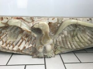 Onyx Fireplace Marble, Eagle Shape