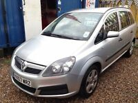 ★ SCHOOL RUN READY ★🌟★ 2007 VAUXHALL ZAFIRA 1.6 PETROL MPV ★ 7 SEATER ★ MOT MAY 2017★KWIKI AUTOS★