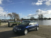 Rover 25 1.8 IL 16v Automatic 3 Door Hatchback Blue