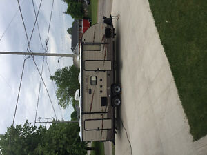 2016 23DBH Forest River Grey Wolf Travel Trailer