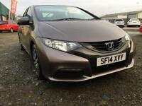 SOLD Honda Civic 1.6i-DTEC ( 120ps ) 2014 SE 20,000 miles FSH