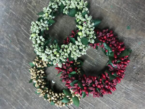Christmas Wreaths mini