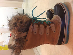 Sorel winter boots for women size8 and size 6