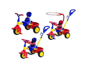 Almost new Little Tikes Tricycle Trike 4 in 1 w/ sun canopy