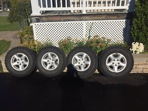 Wrangler duratracs winter tires