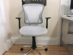 White Computer Chair