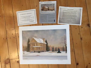 """Limited edition print """"The Banting Museum"""" by David Harrington"""