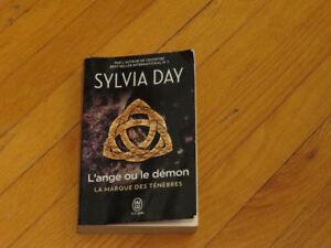 SYLVIA DAY/ L' ANGE OU DÉMON /littérature -auteur