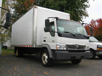 LAST MINUTE MOVE-Big Cube Truck with Driver- $40/hr-514 558 7230
