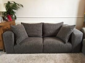 ONO - Heals Grey Sofa - good condition - £500 ONO for quick sale