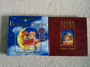 2 large storybooks, in like new condition