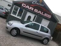 RENAULT CLIO 1.1 CAMPUS 8V 3 DOOR LOW INSURANCE FINANCE PARTX WELCOME