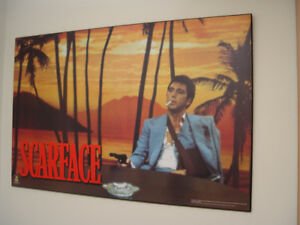 Laminated Poster Scarface