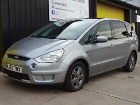 2006 (56) Ford S-MAX 1.8 TDCi 6 speed Zetec Diesel *Panoramic roof* 7 seater