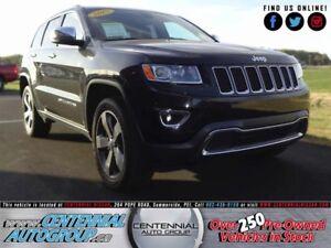 Jeep Grand Cherokee Limited   4WD   3.6L   V6   Bluetooth 2015