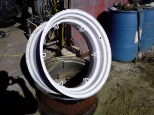 David Brown/Case 30`` rear wheel used.