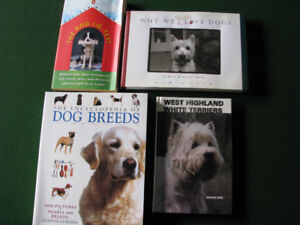 Dog IQ test & three other dog books for $5